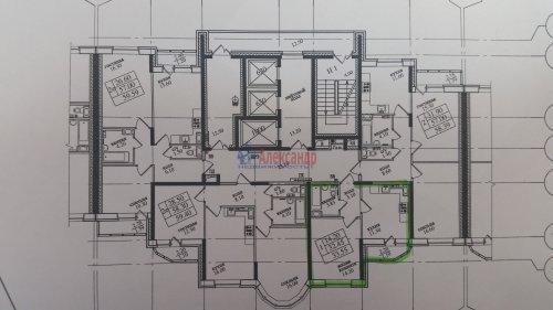 1-комнатная квартира (34м2) на продажу по адресу Парголово пос., Федора Абрамова ул., 19— фото 1 из 3