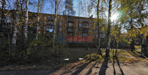 2-комнатная квартира (46м2) на продажу по адресу Сертолово г., Заречная ул., 11— фото 1 из 1