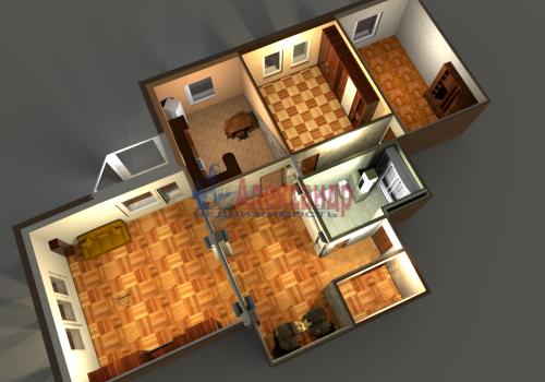 3-комнатная квартира (140м2) на продажу по адресу Приморский пр., 59— фото 3 из 35