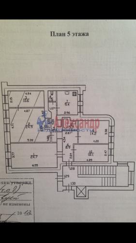 2 комнаты в 5-комнатной квартире (115м2) на продажу по адресу Лермонтовский пр., 50— фото 5 из 5