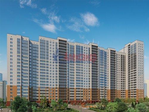 1-комнатная квартира (47м2) на продажу по адресу Лыжный пер., 4— фото 1 из 1