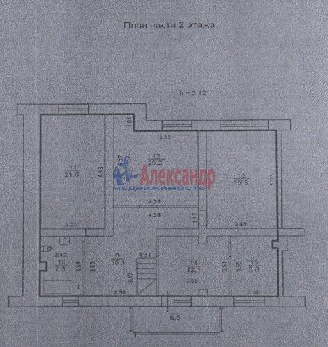 5-комнатная квартира (267м2) на продажу по адресу Стрельна г., Нагорная ул., 23— фото 5 из 8