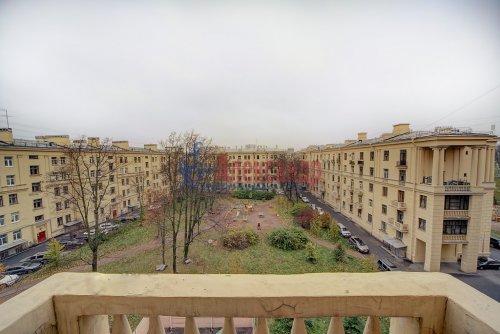 3-комнатная квартира (96м2) на продажу по адресу Краснопутиловская ул., 13— фото 2 из 14