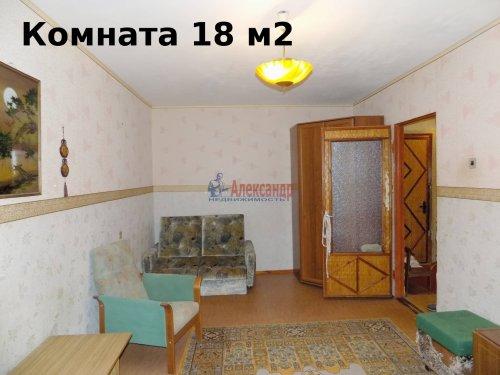 1-комнатная квартира (40м2) на продажу по адресу Выборг г., Победы пр., 4а— фото 5 из 19
