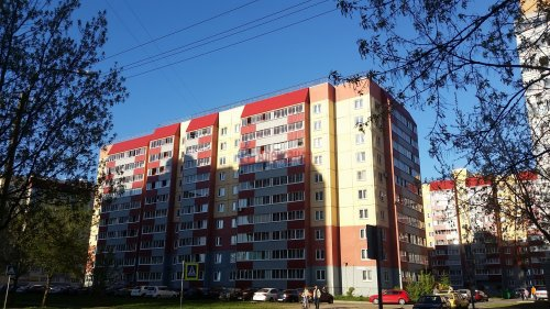 1-комнатная квартира (47м2) на продажу по адресу Колпино г., Московская ул., 6— фото 1 из 12