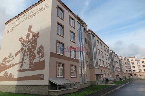 1-комнатная квартира (43м2) на продажу по адресу Сертолово-2 пос., Мира ул., 13— фото 2 из 17