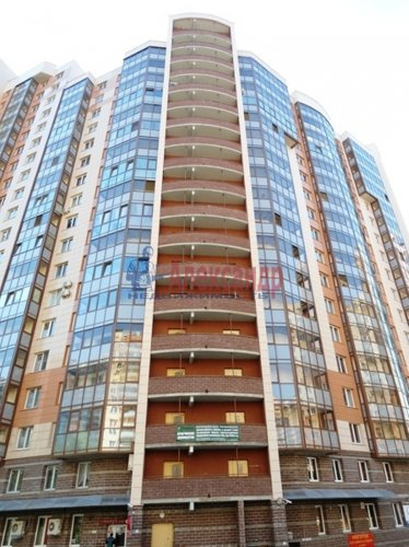 1-комнатная квартира (41м2) на продажу по адресу Парашютная ул., 54— фото 1 из 5