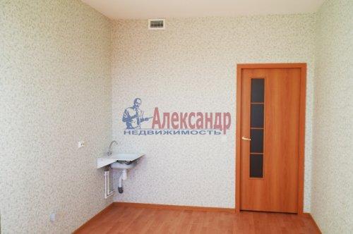 1-комнатная квартира (38м2) на продажу по адресу Мурино пос., Шоссе в Лаврики ул., 83— фото 2 из 5