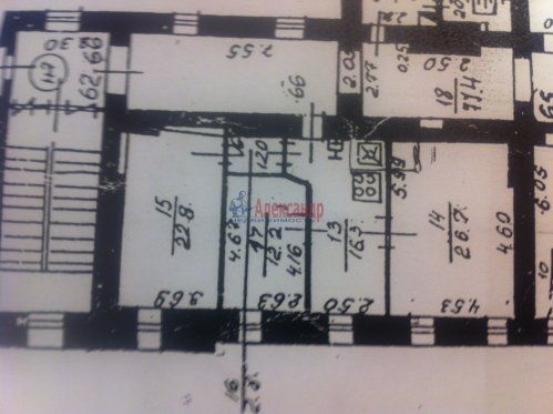 3-комнатная квартира (84м2) на продажу по адресу Шпалерная ул., 1— фото 4 из 4