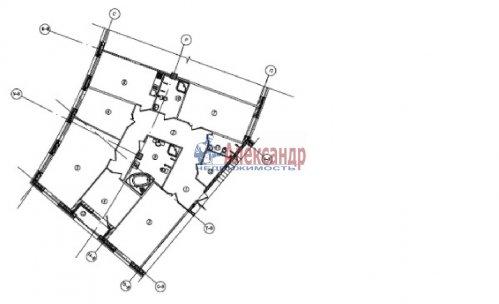 5-комнатная квартира (181м2) на продажу по адресу Полтавский пр-зд., 4— фото 1 из 1