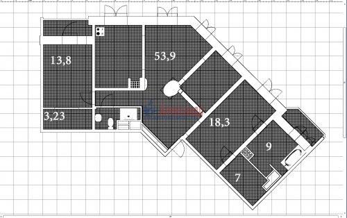 3-комнатная квартира (123м2) на продажу по адресу Савушкина ул., 36— фото 17 из 19