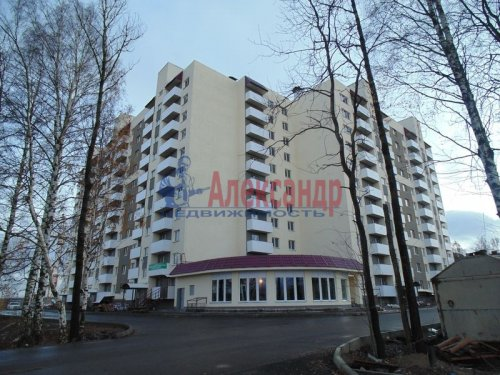 2-комнатная квартира (69м2) на продажу по адресу Парголово пос., Тихоокеанская ул., 1— фото 1 из 10