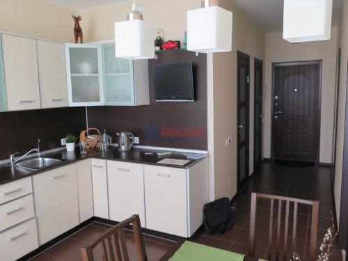 1-комнатная квартира (42м2) на продажу по адресу Ворошилова ул., 27— фото 3 из 9