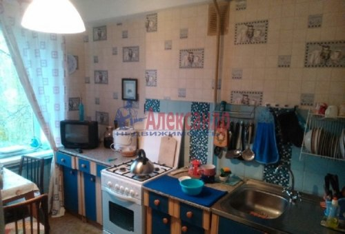 2-комнатная квартира (46м2) на продажу по адресу Большая Пороховская ул., 45— фото 1 из 12