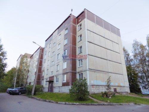 1-комнатная квартира (40м2) на продажу по адресу Выборг г., Победы пр., 4а— фото 1 из 19