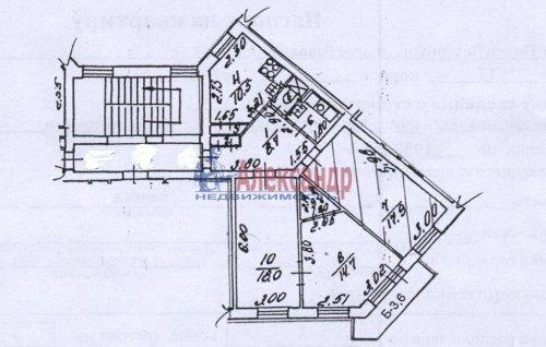 Комната в 3-комнатной квартире (78м2) на продажу по адресу Революции шос., 17— фото 1 из 9