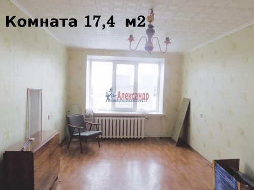1-комнатная квартира (29м2) на продажу по адресу Выборг г., Приморская ул., 6— фото 3 из 14