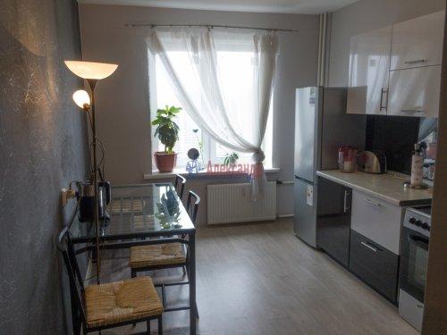 1-комнатная квартира (37м2) на продажу по адресу Парголово пос., Федора Абрамова ул., 18— фото 10 из 15