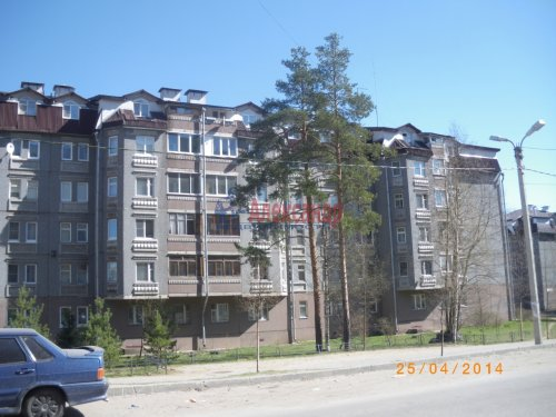 3-комнатная квартира (75м2) на продажу по адресу Сертолово г., Кленовая ул., 5— фото 13 из 14