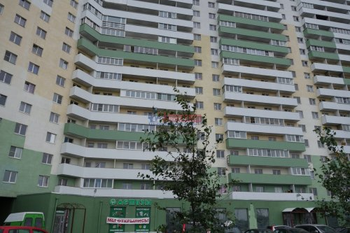 1-комнатная квартира (40м2) на продажу по адресу Шушары пос., Новгородский просп., 10— фото 1 из 10