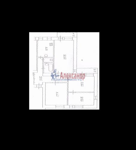 4-комнатная квартира (96м2) на продажу по адресу Покрышева ул., 2— фото 6 из 6