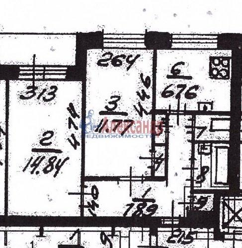2-комнатная квартира (47м2) на продажу по адресу Светлановский пр.— фото 12 из 12