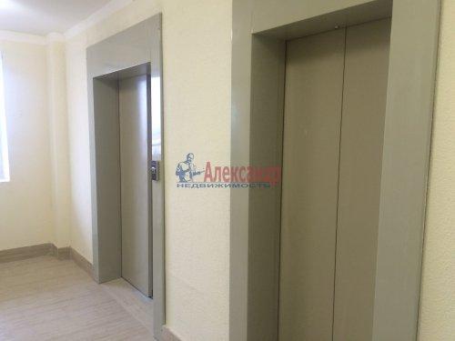1-комнатная квартира (34м2) на продажу по адресу Кудрово дер., Европейский просп., 14— фото 1 из 7