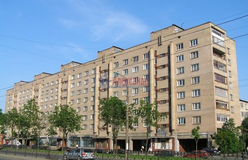 2-комнатная квартира (51м2) на продажу по адресу Народная ул., 59— фото 1 из 6