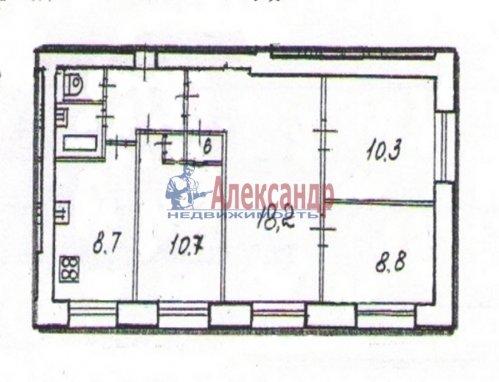 4-комнатная квартира (64м2) на продажу по адресу Славы пр., 12— фото 13 из 13