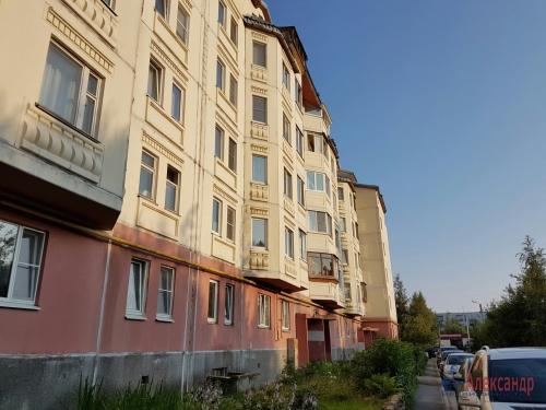 1-комнатная квартира (49м2) на продажу по адресу Сертолово г., Заречная ул., 10— фото 22 из 25