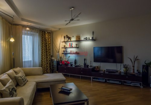 3-комнатная квартира (145м2) на продажу по адресу Коломяжский пр., 20— фото 3 из 33
