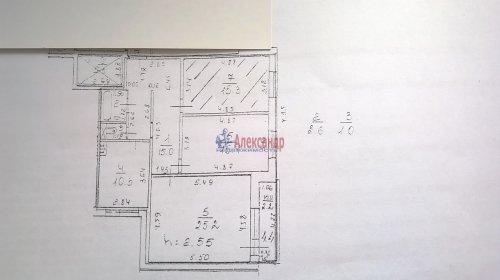 Комната в 3-комнатной квартире (85м2) на продажу по адресу Сестрорецк г., Приморское шос., 283— фото 2 из 6
