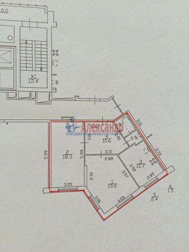 2-комнатная квартира (63м2) на продажу по адресу Гжатская ул., 22— фото 4 из 5