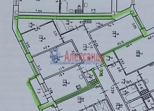 3-комнатная квартира (91м2) на продажу по адресу Кудрово дер., Областная ул., 1— фото 24 из 24