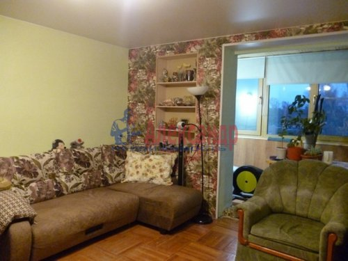 2-комнатная квартира (48м2) на продажу по адресу Всеволожск г., Плоткина ул., 15— фото 4 из 12