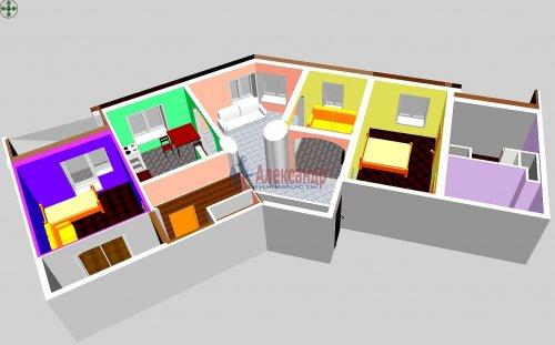 3-комнатная квартира (123м2) на продажу по адресу Савушкина ул., 36— фото 18 из 19