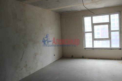 1-комнатная квартира (44м2) на продажу по адресу Мурино пос., Шоссе в Лаврики ул., 69— фото 2 из 3