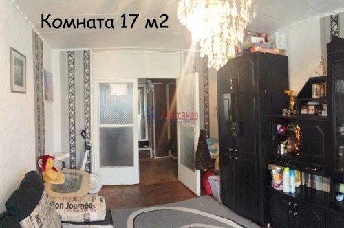 3-комнатная квартира (64м2) на продажу по адресу Выборг г., 75— фото 4 из 15