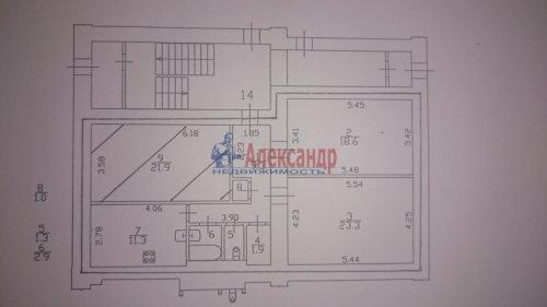 3-комнатная квартира (92м2) на продажу по адресу 10 Красноармейская ул., 8— фото 1 из 1