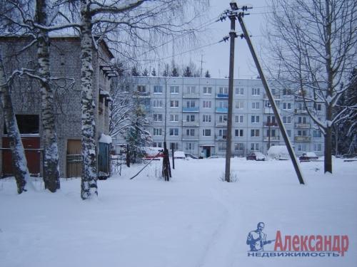 1-комнатная квартира (30м2) на продажу по адресу Вещево пос., 11— фото 1 из 11
