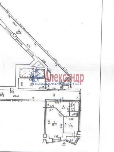 1-комнатная квартира (37м2) на продажу по адресу Сердобольская ул., 7— фото 4 из 7