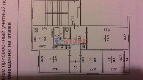 4-комнатная квартира (74м2) на продажу по адресу Дубровка рп, Томилина ул., 5— фото 2 из 9