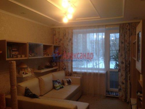 2-комнатная квартира (43м2) на продажу по адресу Всеволожск г., Вокка ул., 4— фото 1 из 17