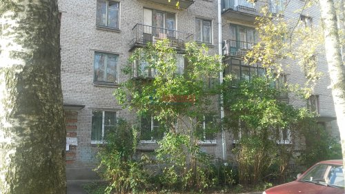 2-комнатная квартира (43м2) на продажу по адресу Петергоф г., Разведчиков бул., 16— фото 24 из 24