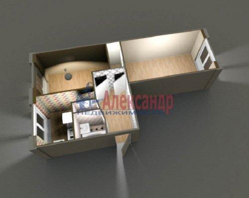 2-комнатная квартира (45м2) на продажу по адресу Тельмана ул., 32— фото 1 из 8