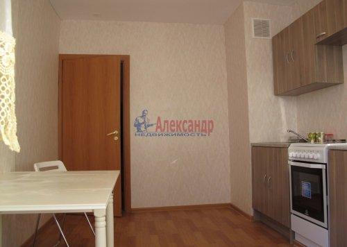 1-комнатная квартира (41м2) на продажу по адресу Парголово пос., Федора Абрамова ул., 16— фото 1 из 4