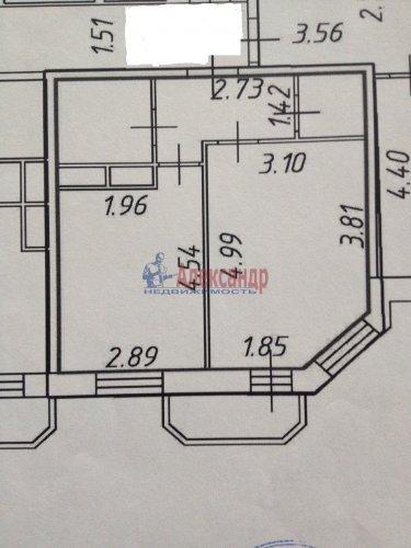 1-комнатная квартира (38м2) на продажу по адресу Бугры пос., Школьная ул., 11— фото 2 из 7