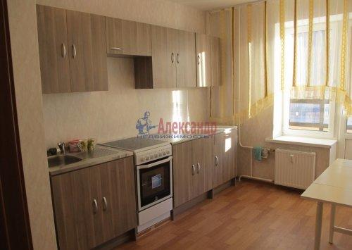 1-комнатная квартира (41м2) на продажу по адресу Парголово пос., Федора Абрамова ул., 16— фото 2 из 4