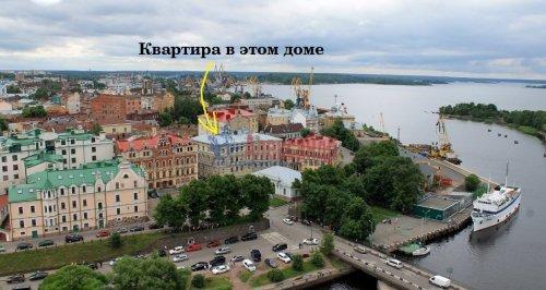 2-комнатная квартира (44м2) на продажу по адресу Выборг г., Крепостная ул., 1— фото 2 из 18