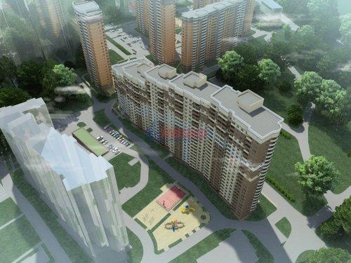 1-комнатная квартира (36м2) на продажу по адресу Маршала Блюхера пр.— фото 1 из 3